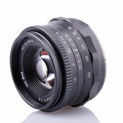 $ CDN120.17 • Buy 35mm F/1.2 APS-C Manual Prime Lens For Sony A6500 A6300 A6000 A5100 A5000 A7R