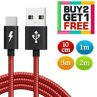 £2.59 • Buy USB Phone Charger Charging Data Extension Cable Lead For New IPhone 7 8 6 5 XS X