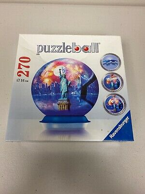 $24.99 • Buy Ravensburger 3D New York City 270 Piece Puzzle Ball Jigsaw Puzzleball SEALED