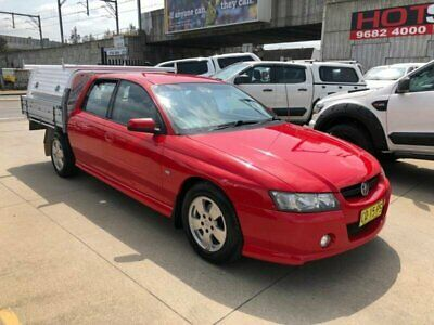 AU6950 • Buy 2007 Holden Crewman VZ Red Automatic A Utility