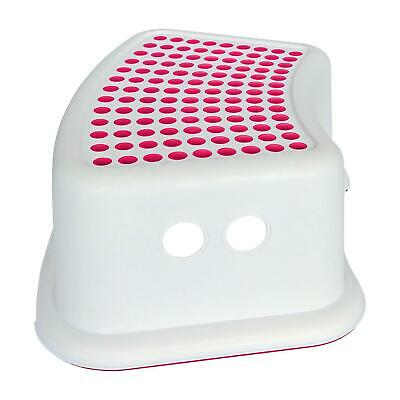 Booster Step Stool Non Anti Slip Toilet Potty Training Kids Children Bathroom • 7.95£