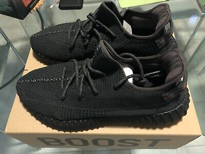 AU650 • Buy Yeezy 350 V2 Black (Non-reflective)12.5Us