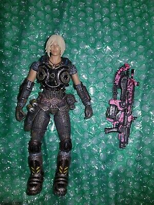 $60 • Buy Gears Of War 3 Series 1 Anya Stroud Action Figure (PINK LANCER) Gow Neca