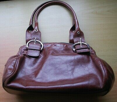 Hobbs Brown Leather Bag - Good Condition • 36£