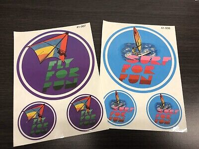 AU10 • Buy Original 80s Surf Sticker Lot