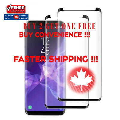 $ CDN6.90 • Buy Case Friendly Curved Tempered Glass Screen Protector For Samsung Galaxy S8 /S8+