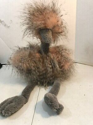 $15 • Buy JellyCat London Plush Stuffed Mad Pet Odette Ostrich Emu Bird Soft Adorable 19