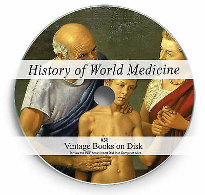 £3.90 • Buy History Of World Medicine Rare Books On DVD Ancient Natural Cures Herbalism 38