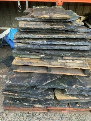York Stone Roofing Flags Reclaimed • 1,400£
