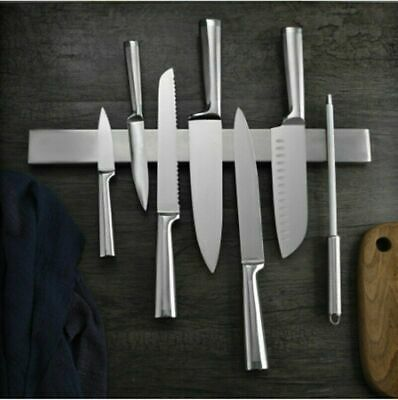 AU21.39 • Buy AU Self-Adhesive Magnetic Knife Storage Holder Chef Rack Strip Utensil 31-51CM