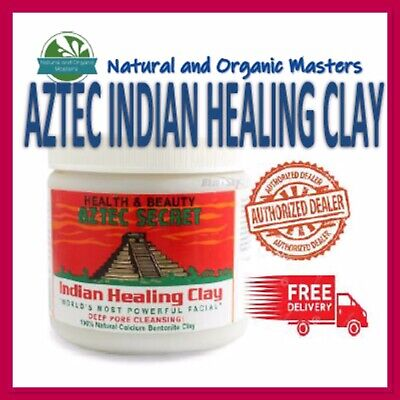 AU38.50 • Buy ✅ Aztec Secret Indian Healing Clay -Genuine Facial Deep Pore Cleansing Mask 454g