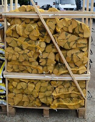 £275 • Buy Kiln Dried Ash Hardwood Logs X 50 Nets 10kg, With FREE DELIVERY