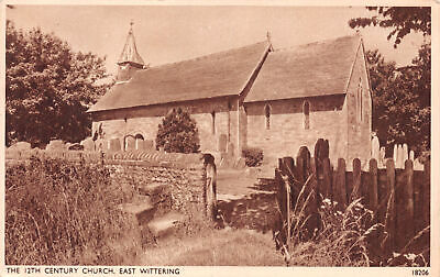 R225230 The 12th Century Church. East Wittering. Salmon. No. 18206. 1951 • 6.75£