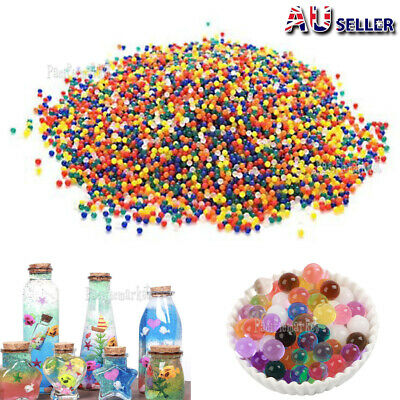 AU4.99 • Buy 100000pcs Crystal Water Balls Jelly Gel Beads For Vases Orbeez MultiColor AU