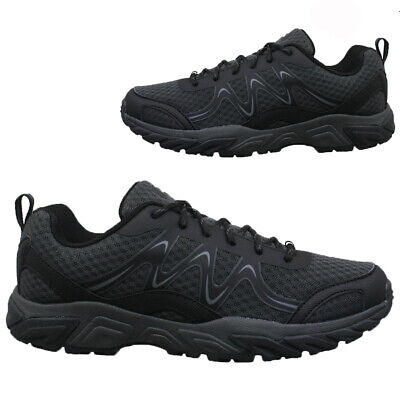 New Mens Hiking Walking Ankle Wide Fit Trail Trekking Trainers Shoes Boots Size • 13.95£
