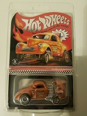 $40 • Buy Hot Wheels RLC EXCLUSIVE '41 WILLYS GASSER Red Line Club 2019