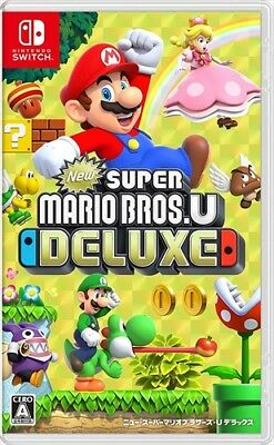 AU104.50 • Buy In Stock Nintendo Switch New Super Mario Bros. U Deluxe Ship From US