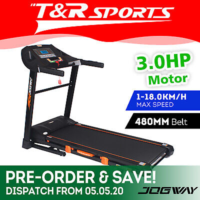 AU999.99 • Buy JMQ Fitness E-S6 Electric Treadmill Bluetooth Running Machine Multi-functional