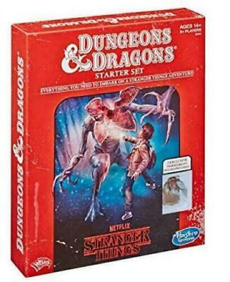 £26.99 • Buy Stranger Things - Dungeons & Dragons Starter Set - Intro To D&D - NEW And Sealed