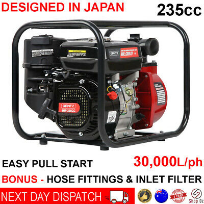 AU229.95 • Buy Fire Fighting Water Transfer Pump Firefighter High Fighter Petrol Irrigation 8hp
