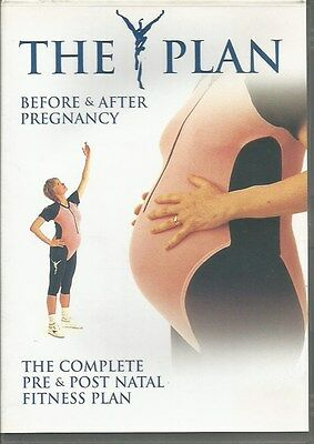 The Y Plan The Complete Pre & Post Natal Workout Fitness DVD New & Sealed • 3.99£
