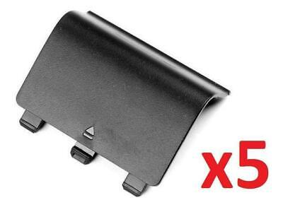 $5.85 • Buy 5pcs Black Xbox One Battery Cover Back Controller Replacement Buy 2 Get 1 Free