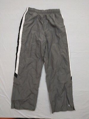 $4.99 • Buy M5 New TEK GEAR Gray Windbreaker Lined Sweat Pants YOUTH Large L (14-16)
