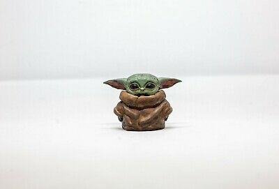 $35 • Buy Inspired By The Child Baby Yoda From Mandalorian | 3D Printed | Hand Painted