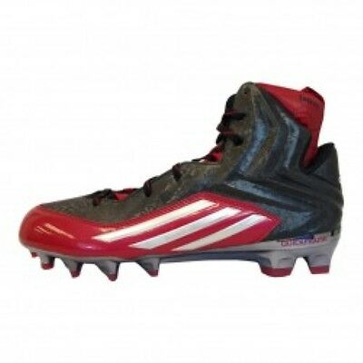 $ CDN39.11 • Buy Mens Adidas Crazyquick 2.0 Black Red Athletic Multi-Purpose Cleat Q16437 Size 13