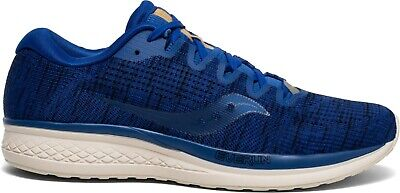 Saucony Mens Jazz 21 Running Trainers Blue S20492-41 RRP £100 • 45£