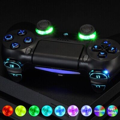 PS4 Controller LED Kit Full Replacement DIY Laser Cut Buttons For PlayStation 4 • 34.99£