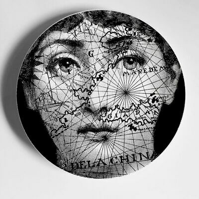 $20.99 • Buy Piero Fornasetti Plates Style 8 Inch Home Wall Hanging Decorative Hotel Bar