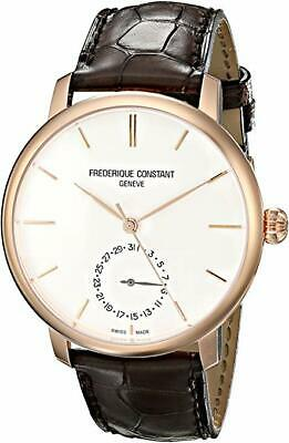 $999.95 • Buy Frederique Constant FC-710V4S4 Gents Slimline Leather Automatic Rose-Gold Watch