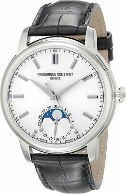 $2799.95 • Buy Frederique Constant FC715S4H6 Gents Slimline Leather Automatic Moonphase Watch