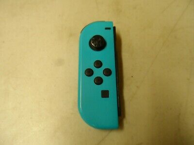$27 • Buy Genuine Original Nintendo Switch Joy-Con (Left)  - Neon Blue