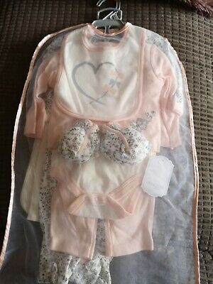 £17.99 • Buy Girls Kyle And Deena Layette Set 3/6 Months