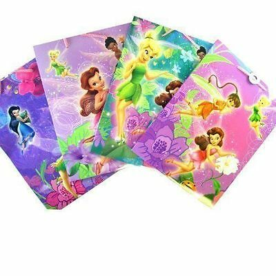 £7.09 • Buy 12 Gift Bags 5 X8.5 X3  TINKERBELL Fairies Friends Party Favor Lot NEW