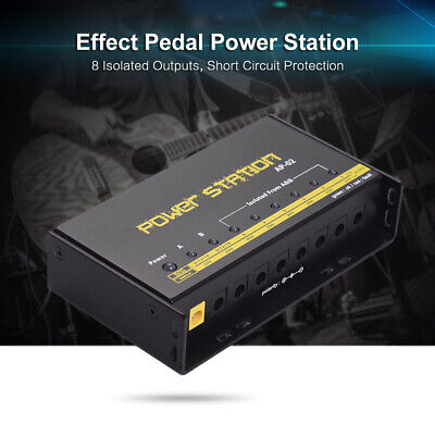 $ CDN51.63 • Buy 10 Isolated Output 9V 12V 18V Guitar Effect Pedal Board Power Supply Cables A6Y7