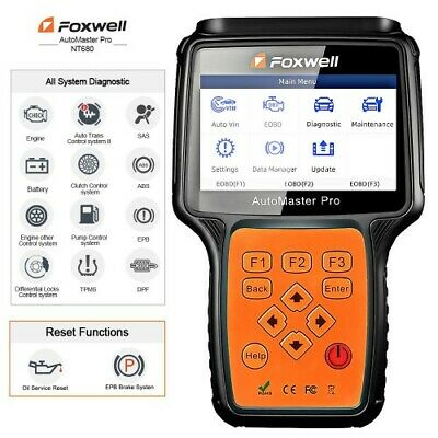 $399 • Buy Foxwell NT680 For MERCEDES All Systems OBD2 Diagnostic Scanner EPB ABS Engine