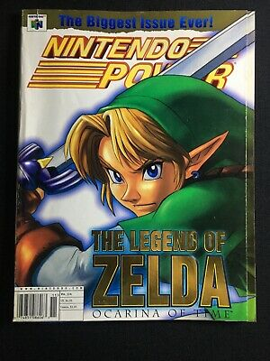 $29.99 • Buy The Legend Of Zelda Ocarina Of Time Official Nintendo Power Player's Guide N64