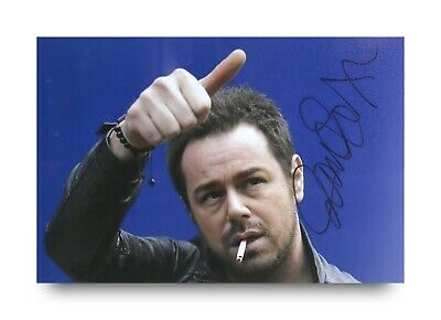 £12.99 • Buy Danny Dyer Signed 6x4 Photo Mick Eastenders Football Factory Autograph + COA