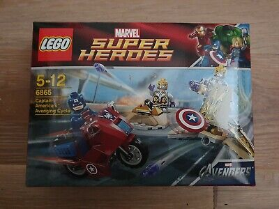 LEGO 6865 Marvel Super Heroes Captain America's Avenging Cycle NEW SEALED  • 35£