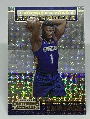 $2.48 • Buy 2019-20 Panini Contenders Zion Williamson Rookie Of The Year Contenders Pelicans