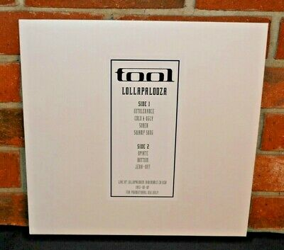 $26 • Buy TOOL - Live At Lollapalooza 1993, Limited Import COLORED VINYL LP New!