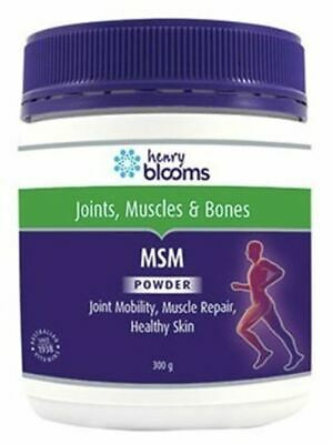 AU56.74 • Buy MSM Powder 300g Blooms