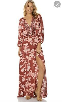 AU40.38 • Buy Tigerlily Sonisay Maxi Dress - Size 8