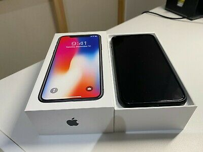 AU255 • Buy Apple IPhone X - 64GB - Space Grey (Unlocked) A1865 (CDMA + GSM) (AU Stock)