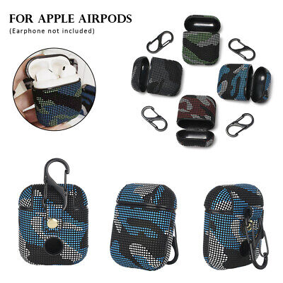 $ CDN5.05 • Buy Bags Leather Case Cover Earphones Pouch Protective Skin For Apple Airpods