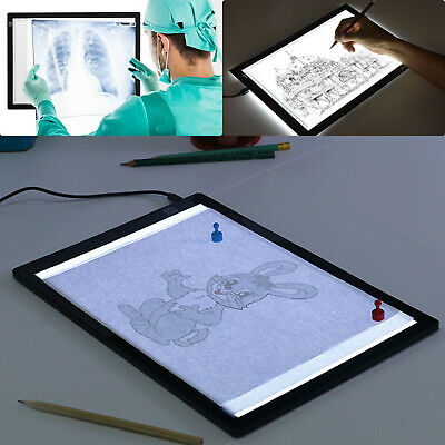 £21.99 • Buy A3 Artist LED Drawing Board Tracing Table Stencil Tattoo Display Light Box Gifts