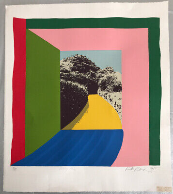 Lieke Ritman Sunny Lane 1985 Screen Print Numbered 4/10 Signed By Artist • 275£